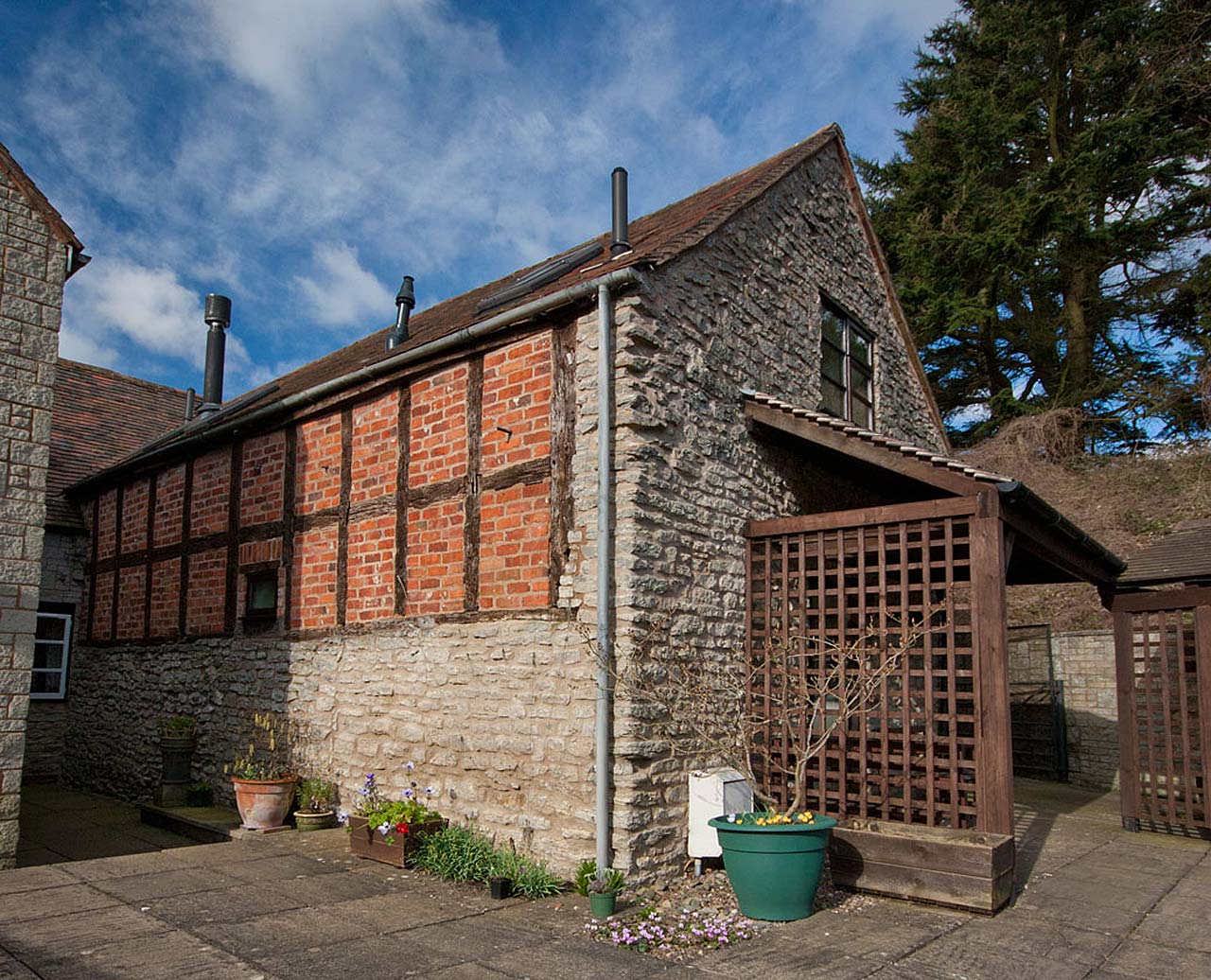 End Barn cottage, Much Wenlock