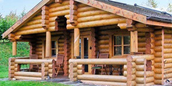 Ceder Log Cabin Ellesmere