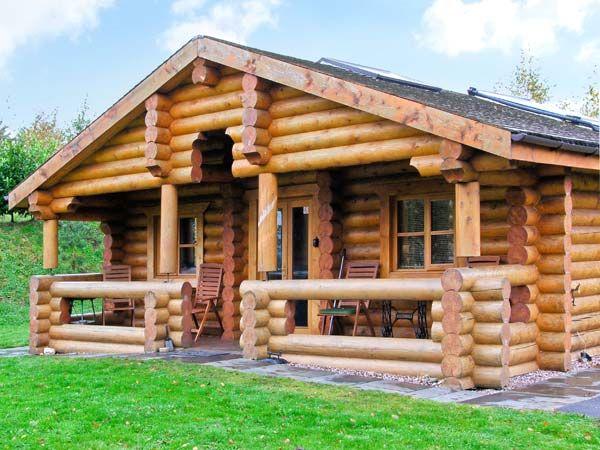 Cedar Log Cabin Near Ellesmere For Self Catering