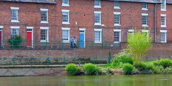 Shrewsbury Group Accommodation Riverside Setting